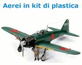 Aerei in kit di plastica