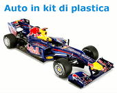 Auto in kit di plastica