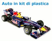 Auto in kit di plastica