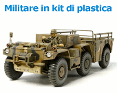 Militare in kit di plastica