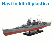 Navi in kit di plastica