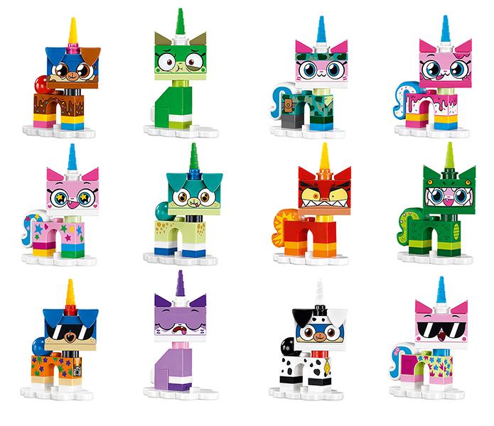 2 No Angry Unikitty Lego Unikitty Series 41775 Exc Con